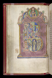 Psalm 1 With King David, in the 'Shaftesbury Psalter'